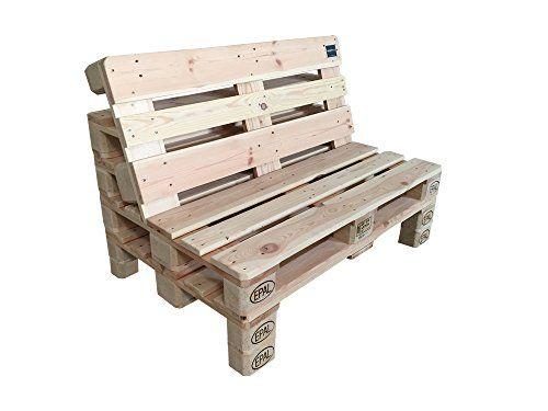 Sofa Aus Europaletten U2013 2er Palettenmöbel Sitzgruppe Mit Füßen Oder Rollen  Wählbar