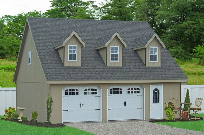 Sheds Unlimited Llc Prefab Car Garages For Sale In Pa Nj: 17 Best Ideas About Two Car Garage On Pinterest