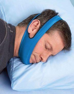 Anti Snore Chin Strap - Sleep Apnea Sleeping Aid ~ Stop Snoring!