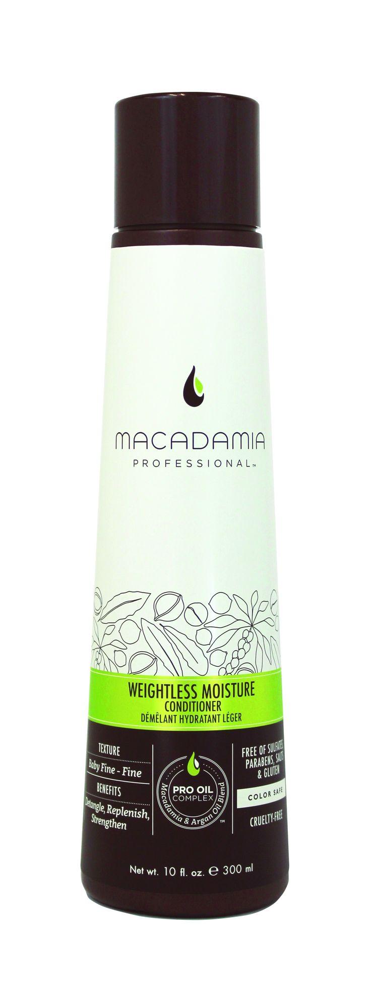Macadamia Professional Weightless Moisture Conditioner 300ml.