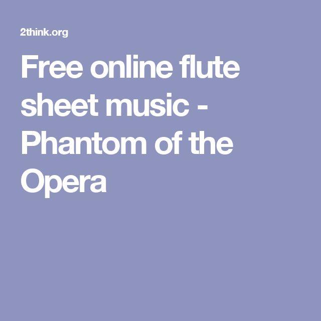 17 Best Ideas About Free Flute Sheet Music On Pinterest