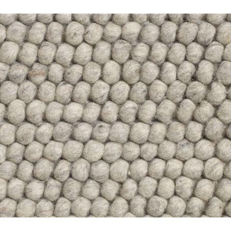 HAY Peas vloerkleed-Soft grey-80x140 cm