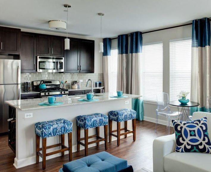 Evanston Luxury Apartment Kitchen Dream Casa Pinterest