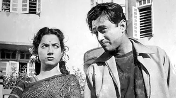"""myluckyerror: """"Shakila and Dev Anand in """"C.I.D."""" (1956) """""""