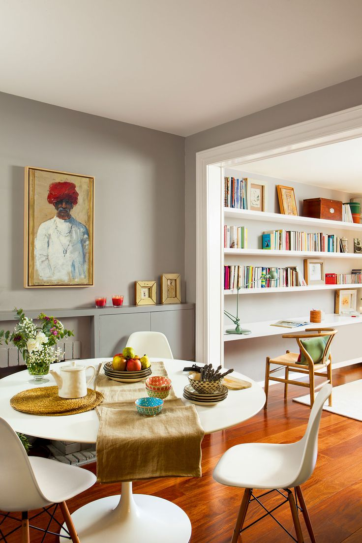 17 mejores ideas sobre casa redonda en pinterest - Salon comedor con mesa redonda ...