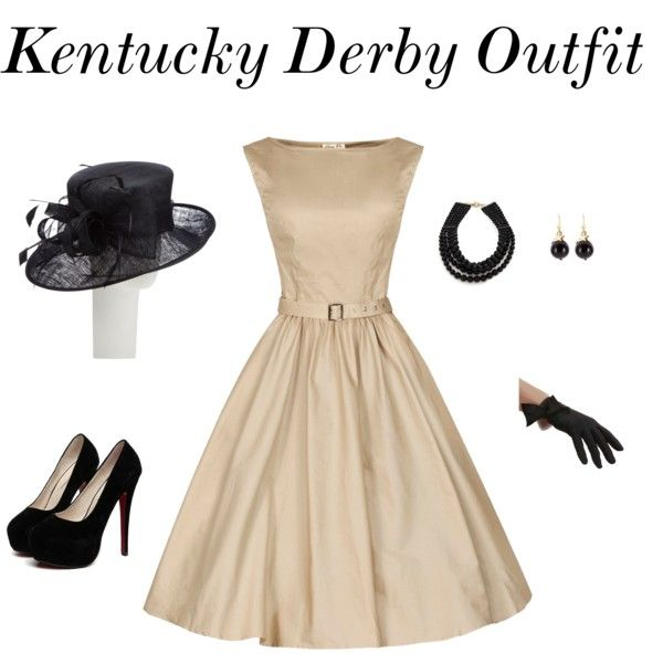 Kentucky Derby outfit by laurapennington1 on Polyvore featuring Fallon, TomShot, John Lewis, women's clothing, women's fashion, women, female, woman, misses and juniors