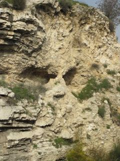 It was on this hill that the Lamb of God was sacrificed:     Golgotha or  Skull Mountain, Israel.