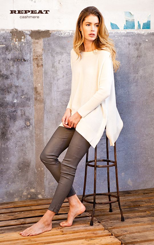 REPEAT cashmere | Fashion Trend: Easy Chic