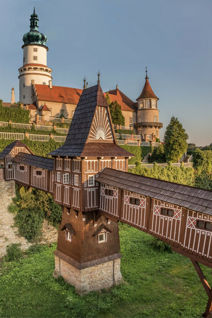 Chateau Nove Mesto nad Metuji: A stunning 17th century chateau in the Czech Republic. Click for more info!