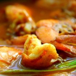 Delicious Spicy Shrimp Curry by Shey