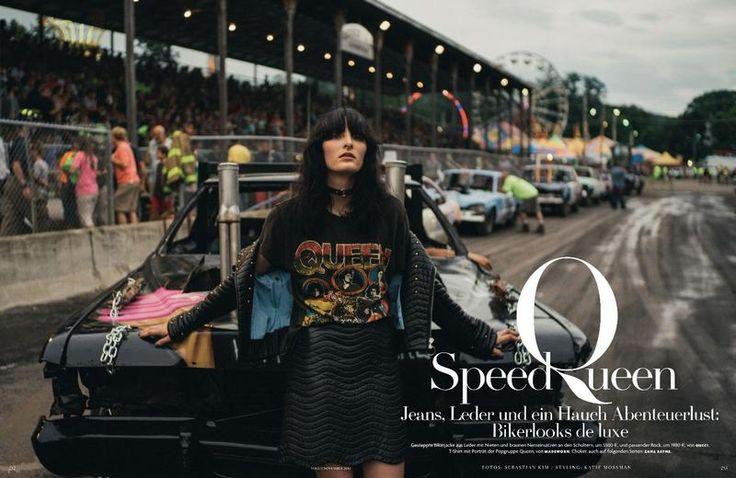 Annie Tice Speed Queen (Vogue Germany)