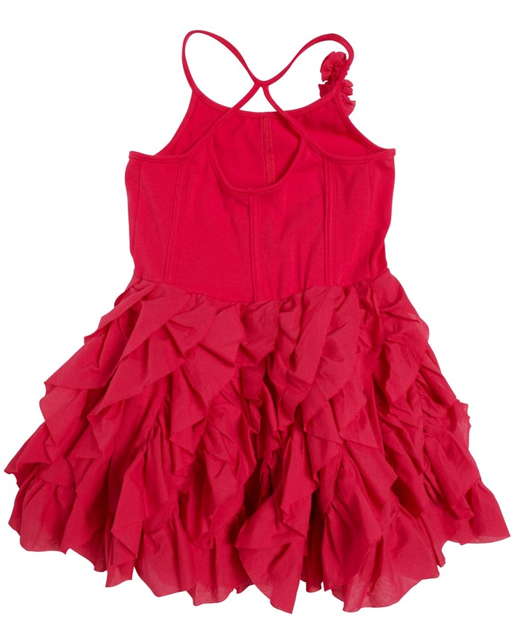 Swoop Ruffle Dress - Bardot Junior