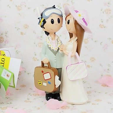 Doll Lovers with Bag  Furnishing Articles - USD $ 19.99