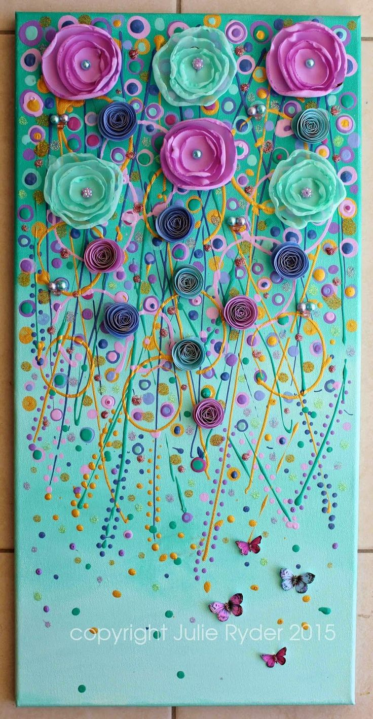"""Made-By-Me....Julie Ryder: """"Dreams of Faraway Places..."""" New Mixed Media!"""