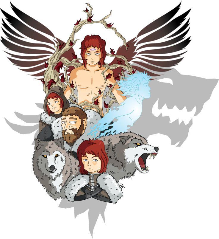 The evolution of Bran Stark.  http://gabkt.deviantart.com/art/ASOIAF-Bran-Stark-454595741?q=gallery%3AGabKT%2F6243512&qo=11