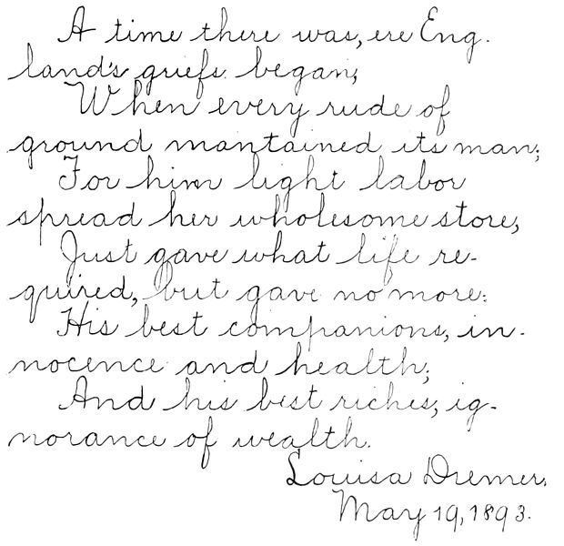 The 134 best images about Handwriting Samples on Pinterest | Note ...