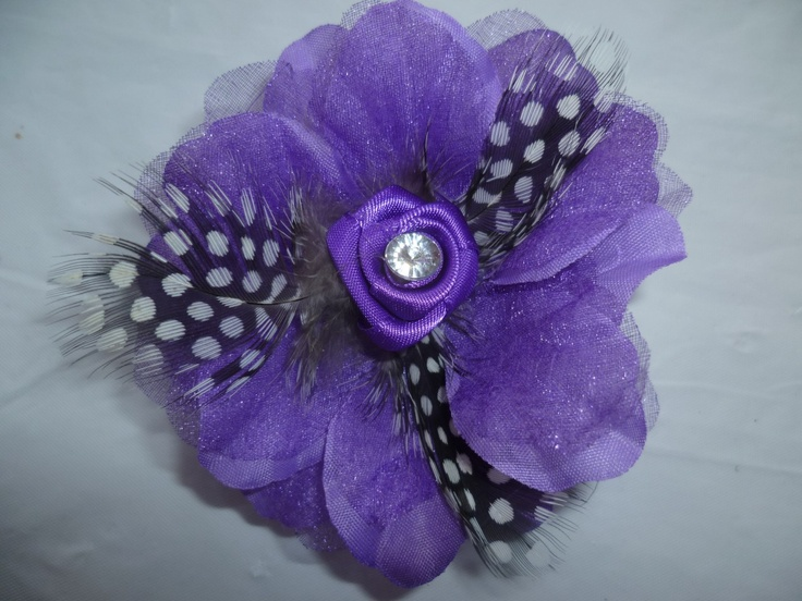 flowers, polka dots, feathers