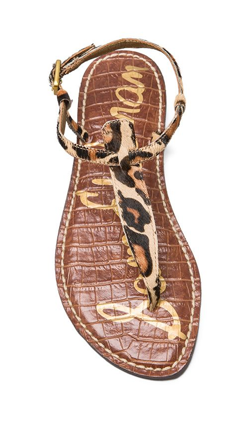 LOVE these leopard print sandals!!