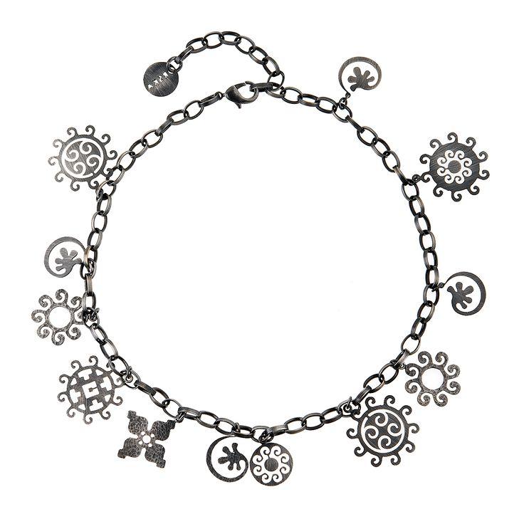 Naszyjnik   Eternal EN46   ORSKA - ręcznie wykonana, unikatowa biżuteria…