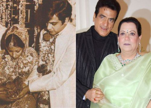 Jeetendra and Shobha Kapoor | itimes
