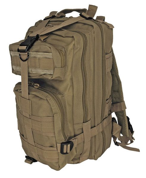 EDC Tactical Assault Backpack - Coyote Tan