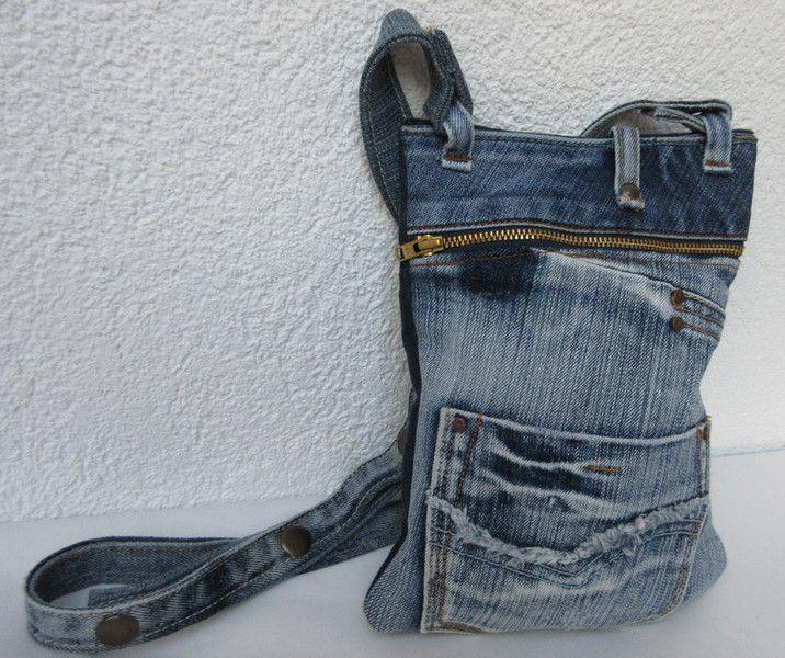 1000 bilder zu jeanstaschen auf pinterest. Black Bedroom Furniture Sets. Home Design Ideas