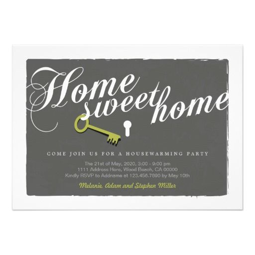 Best  Housewarming Invitation Templates Ideas On