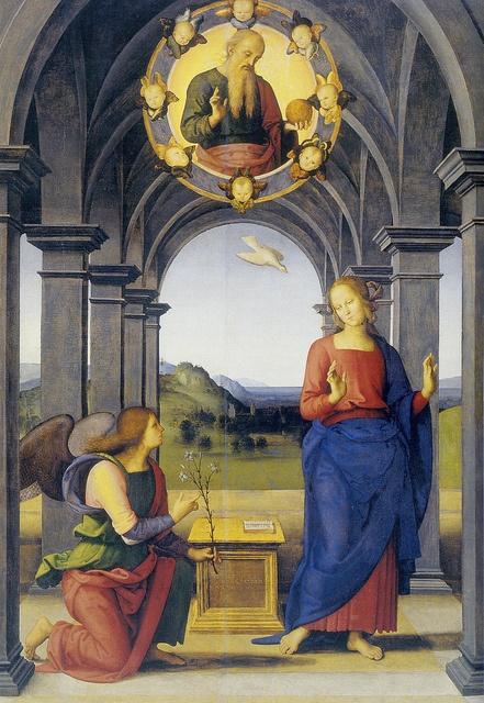 Perugino - Annunciazione (1489)