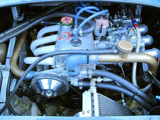 1971 Renault Alpine A110 1300 FIA , engine
