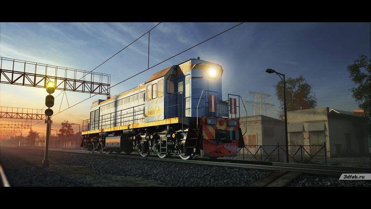 3DFAB. Modeling & render train TEM-18D