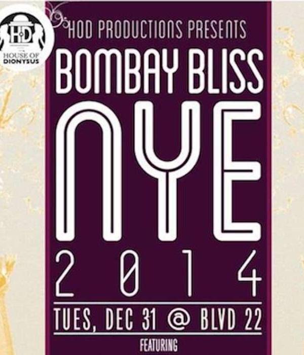 Bombay Bliss NYE 2014