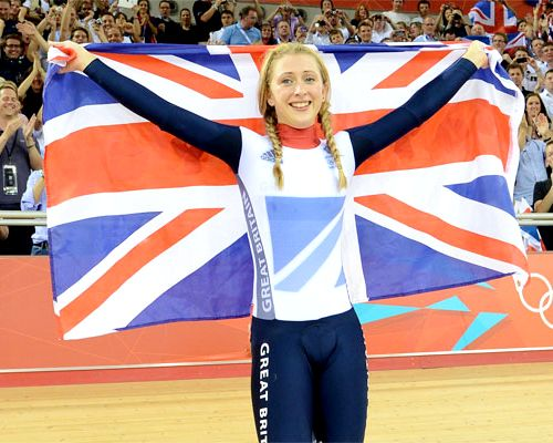 Team GB Medals 2012  35. Laura Trott - GOLD  (Cycling, Track: Women's Omnium)