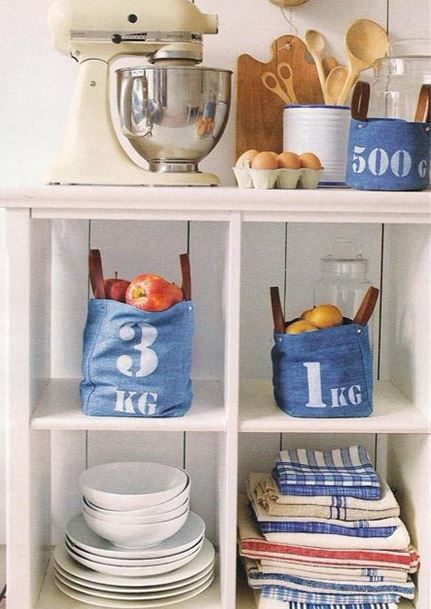 Repurpose jeans - 31 fantastic ideas how to recycle old jeans - The Magazinea