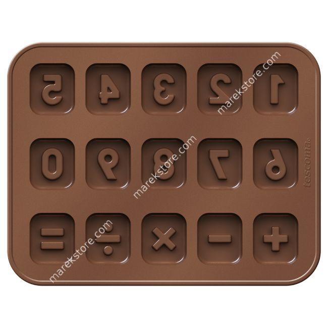 Foremki do czekolady DELÍCIA KIDS, cyferki | Tescoma | 32,90 zł