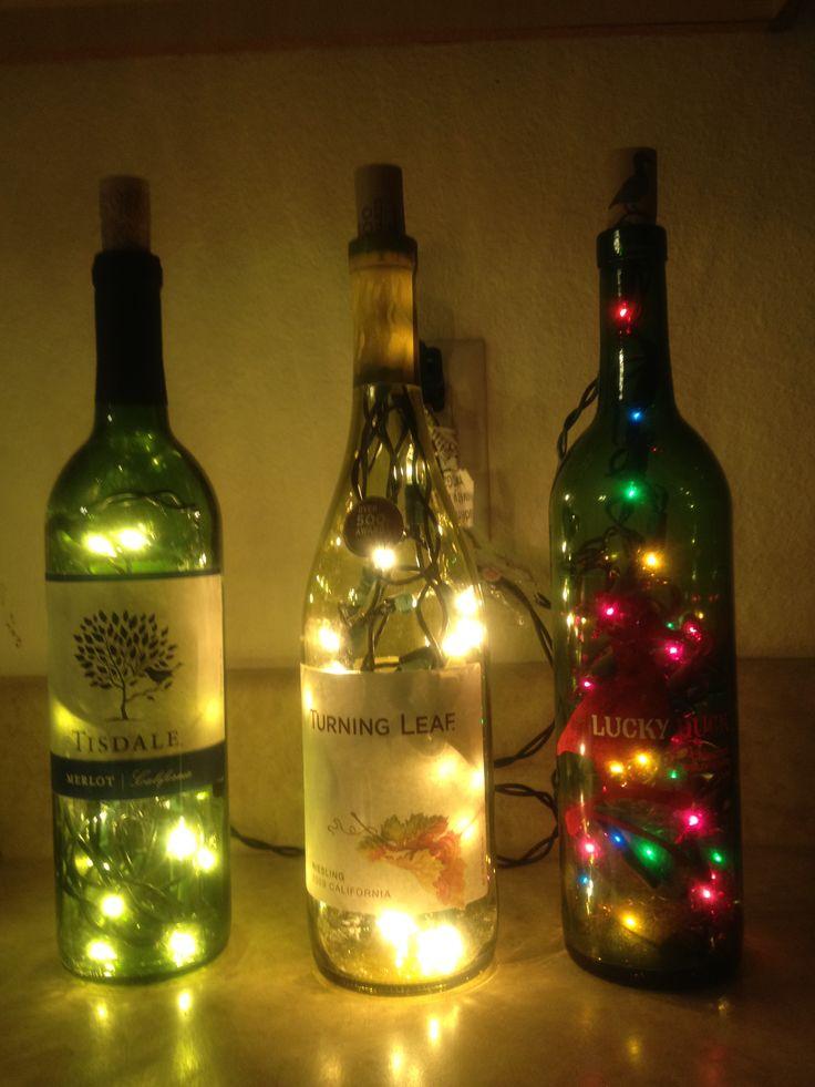 Ideas For Wine Bottle Decoration 75 Best Bottles For Jono Images On Pinterest  Recycled Bottles