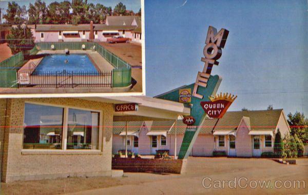 Queen city motel on hiways u s 10 22 at 1108 villard for Dakota motors dickinson nd