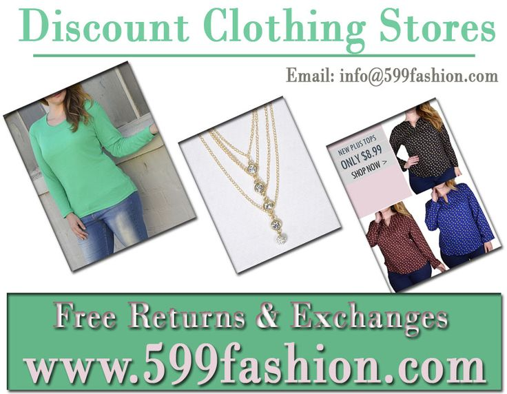 For more detail simply visit at:  https://www.599fashion.com/Discount-Clothing-Stores_ep_17.html