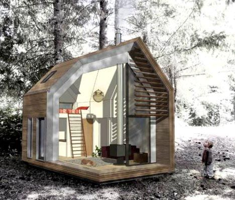 Micro House this tiny house comes shipped to you in a box 274 Best Images About Tiny Homes On Pinterest House Shipping Container Homes And Cottages