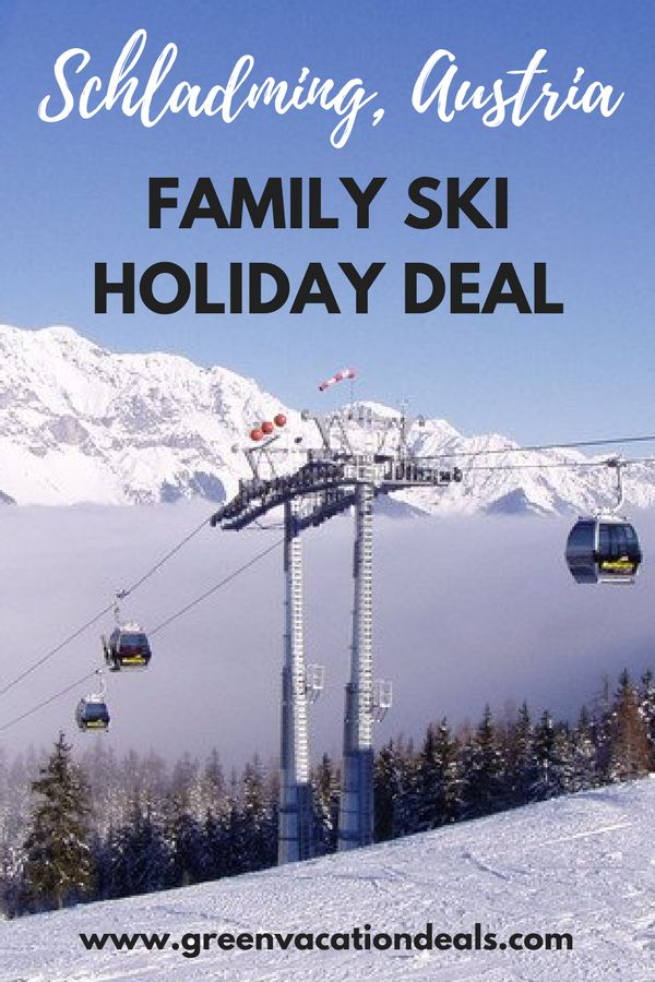 Austria Family Travel Idea - take an amazing ski holiday in Schladming Austria and save money! Take advantage of a great family holiday deal, save lots of money on your ski trip and enjoy a beautiful medieval town in Austria. Perfect for families who love skiing. #AustriaTravel #VisitAustria #Ski #Schladming #TravelWithKids