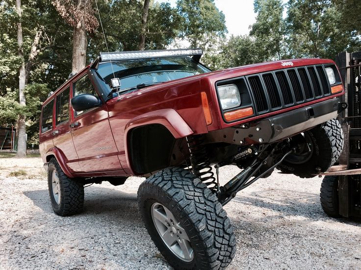 Jeep Cherokee Xj Antirock Dirtbound Ironrock Bilstein Rigid