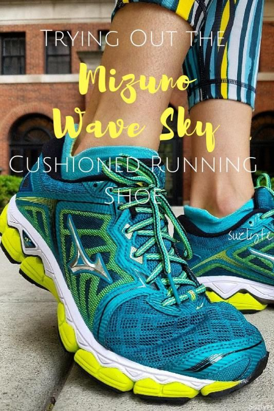 The new Mizuno Wave Sky is the perfect neutral cushioned running shoe to add to your running shoe rotation. Get @suzlyfe's Review http://suzlyfe.com/cushioned-running-shoe-mizuno-wave-sky-review-coaches-corner-64/