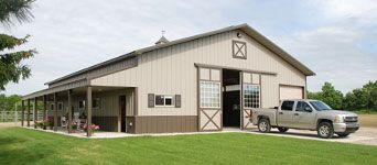 Pole barn, shed, pre-engineered wood & metal building, post-frame structure | Wick Buildings