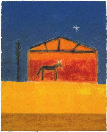 Craigie Aitchison Stable and Donkey 2003