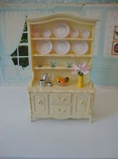 Vintage Pedigree Sindy Dollu0027s House Cream Dining Dresser. Suit Sindy, Barbie