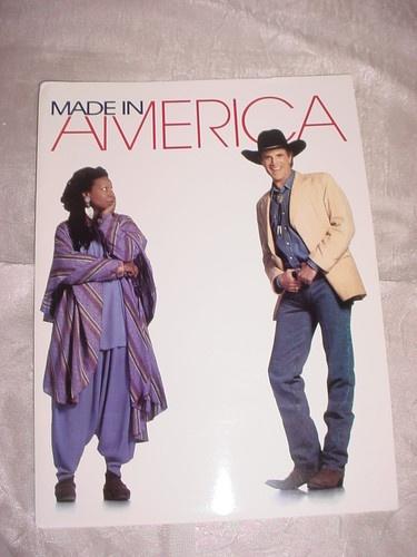 Made in America Movie Press Kit Whoopi Goldberg Ted Danson Nia Long  ~ seller;  florasgarden on ebay
