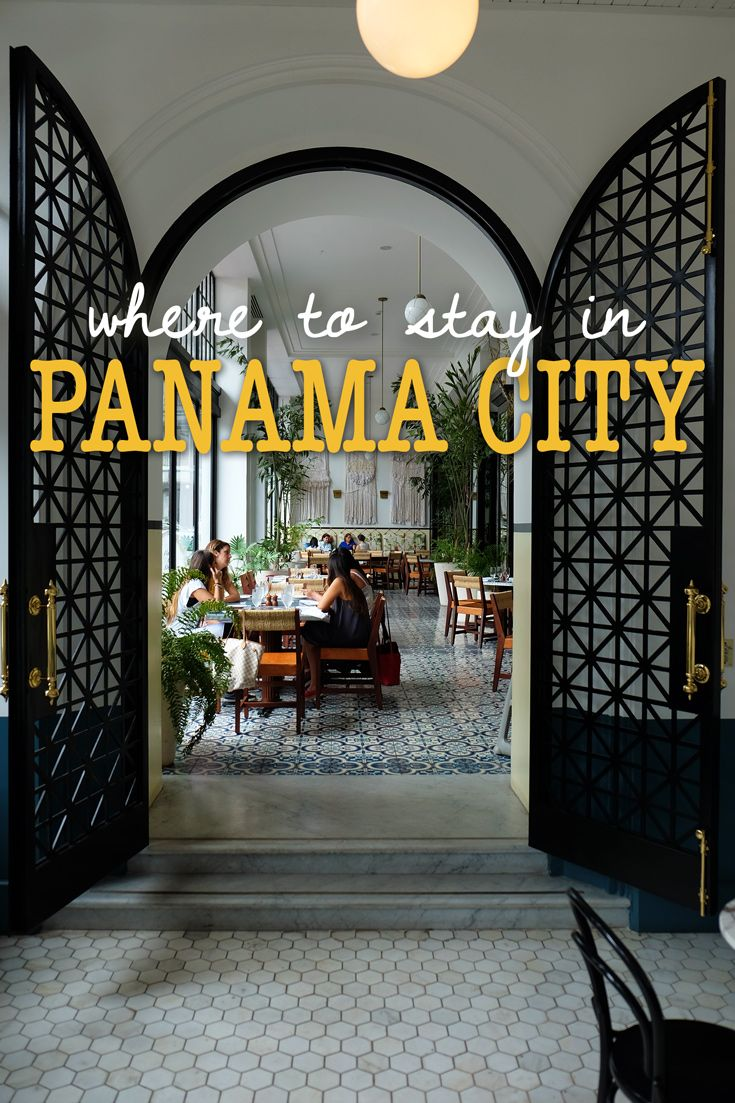 The Ultimate Panama City Travel Guide Tips Pinterest Resorts And Bar