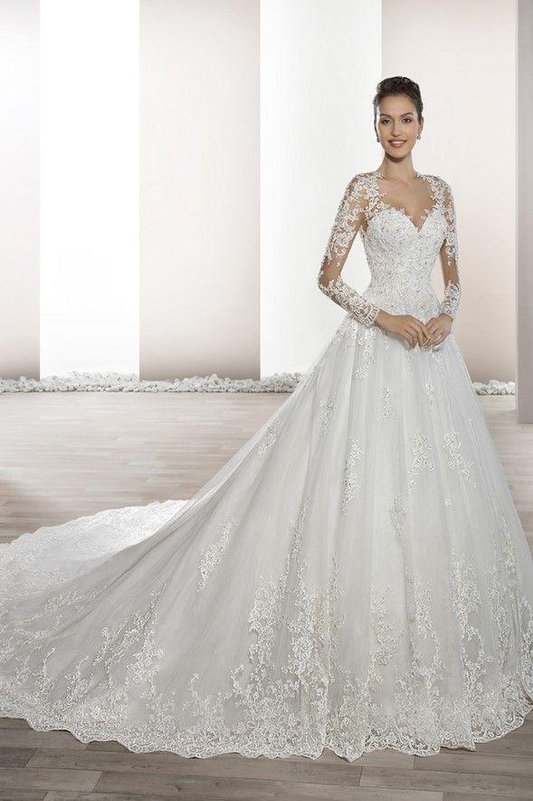 Νυφικά Φορέματα Demetrios 2017 Collection - Style 732