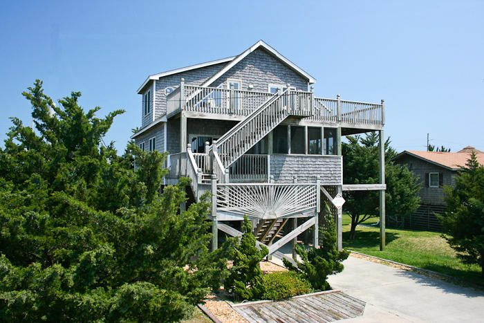 Mls 82421 oceanside 3 bedroom home located in avon nc for Hatteras cabins rentals