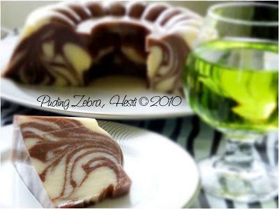 HESTI'S KITCHEN : yummy for your tummy: Puding Zebra