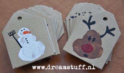Dreamstuff: DIY Christmas labels - Cadeau Labels